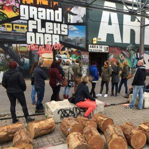 Rondleiding, tours of Walking dinner op Strijp-S in Eindhoven