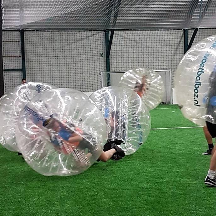 teambuilding-eindhoven-bubble-voetbal