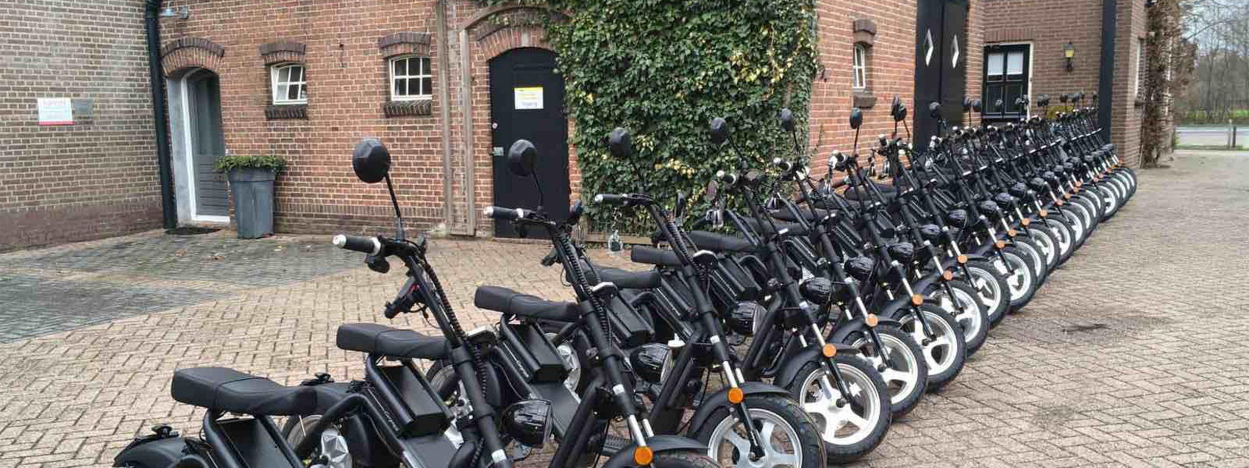 E-scooter tour Eindhoven en omgeving