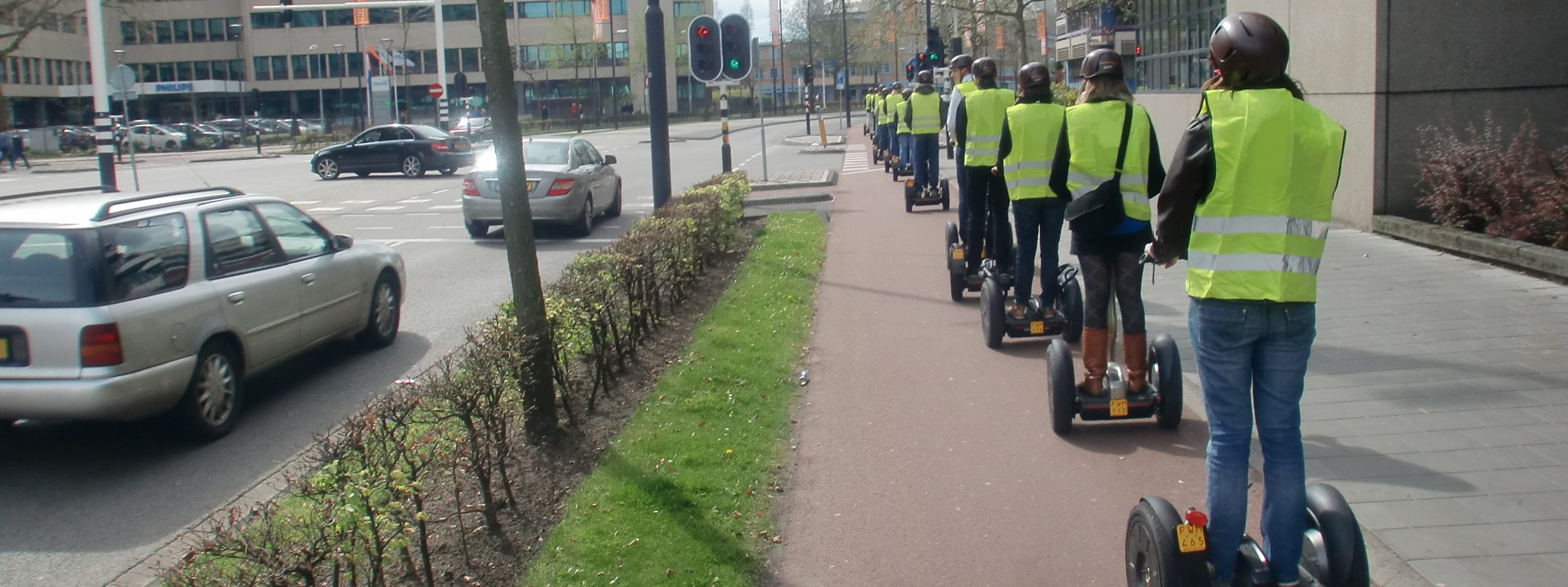 Segway beleving Eindhoven centrum